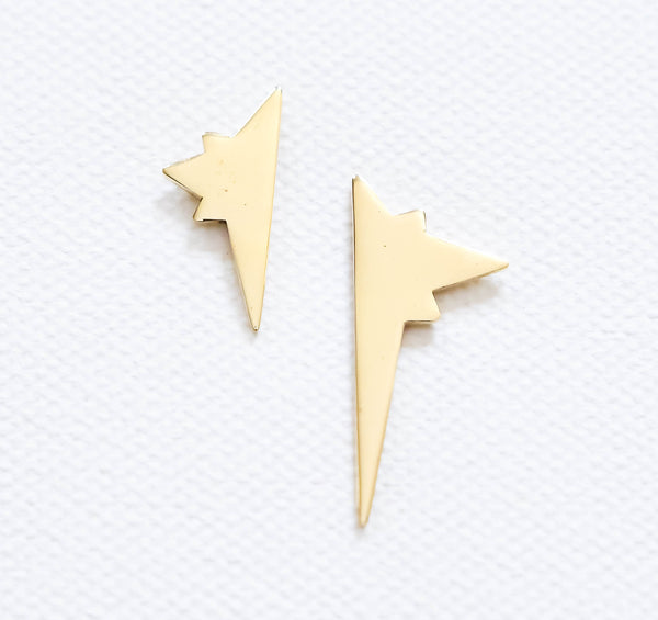 Shooting star earrings mismatch