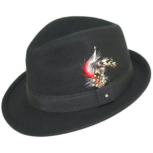 Levine Hat 9th Street Verve Wool Fedora