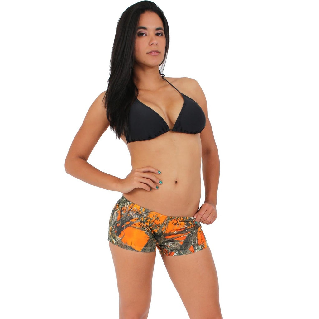 Authentic True Timber Orange Shorts