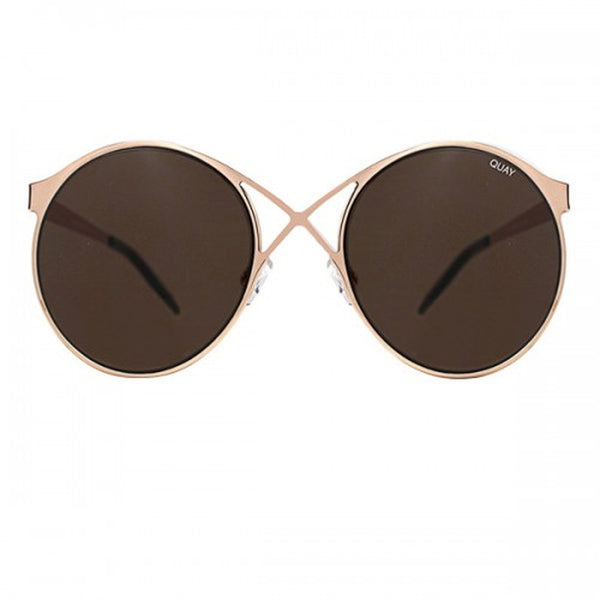 Quay Australia sunglasses Sorry Not Sorry rose gold/brown