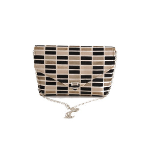 Block Black envelope clutch