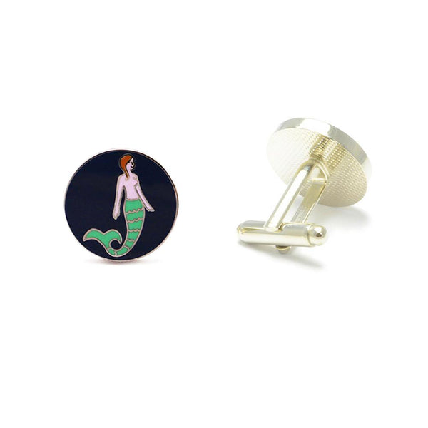 Mermaid Cufflinks
