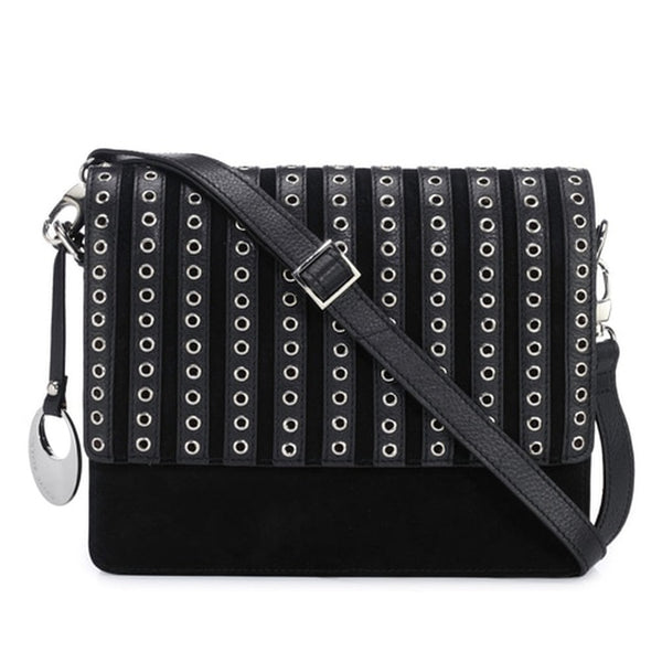 Phive Rivers Women's Black Crossbody Bag-PR1269