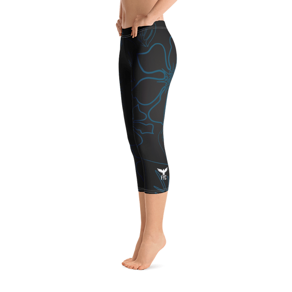 All Day Comfort Capri Leggings Wild Side