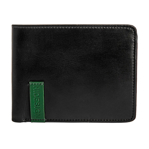 Hidesign Dylan 05 Leather Multi-Compartment Trifold Wallet
