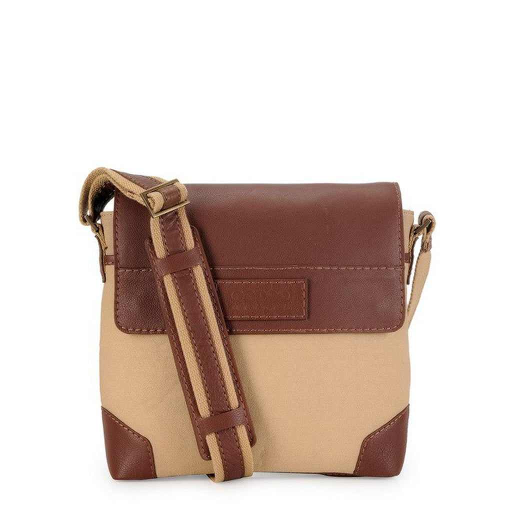 Phive Rivers Men's Khaki Messenger Bag-PR1152