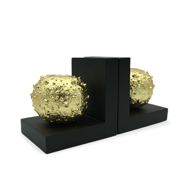 Book End Sea Urchin GOLD