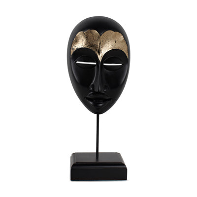 African Mask Female (Black)