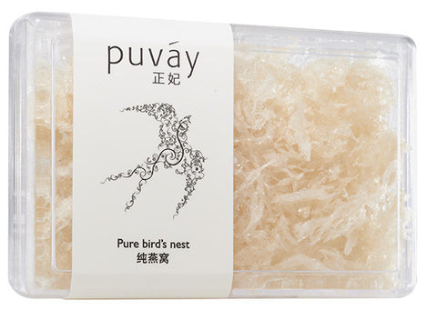 Puvay bird nest crumbs