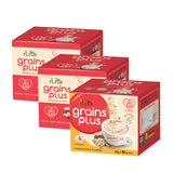 iLite™ GrainsPlus (Bundle of 3 - Choice of Skimmed milk or Organic soy)
