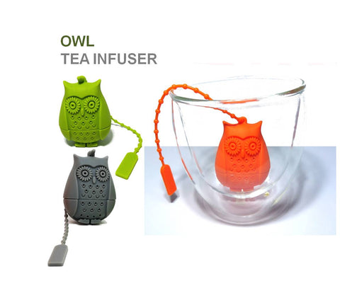 Silicon Tea Infusers (Assorted Designs)