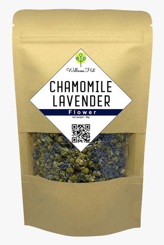 Wellness Hut Chamomile Lavender Flower