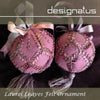 Designatus Designs | Laurel Leaves Felt Ornament