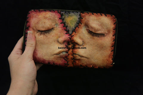 Ed Gein inspired wallet womens
