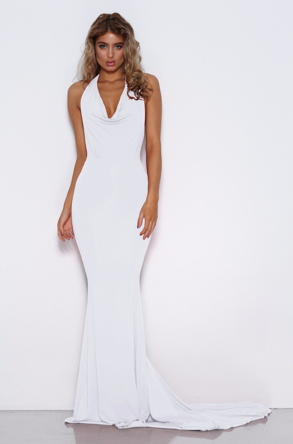 Audrey Gown - White