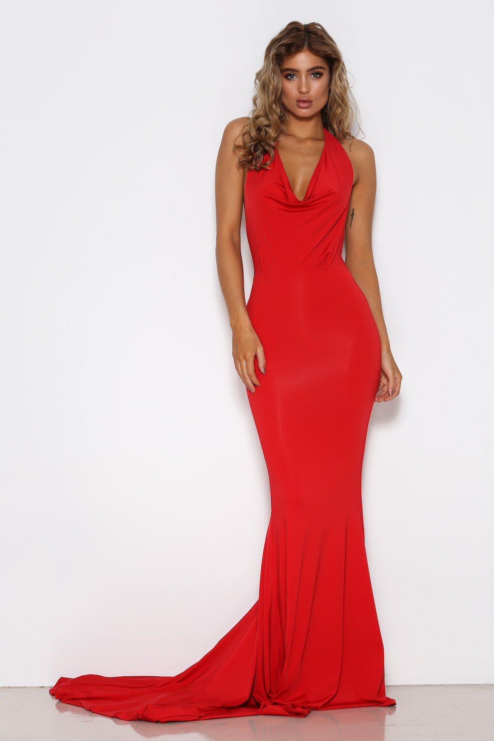 Audrey Gown - Red