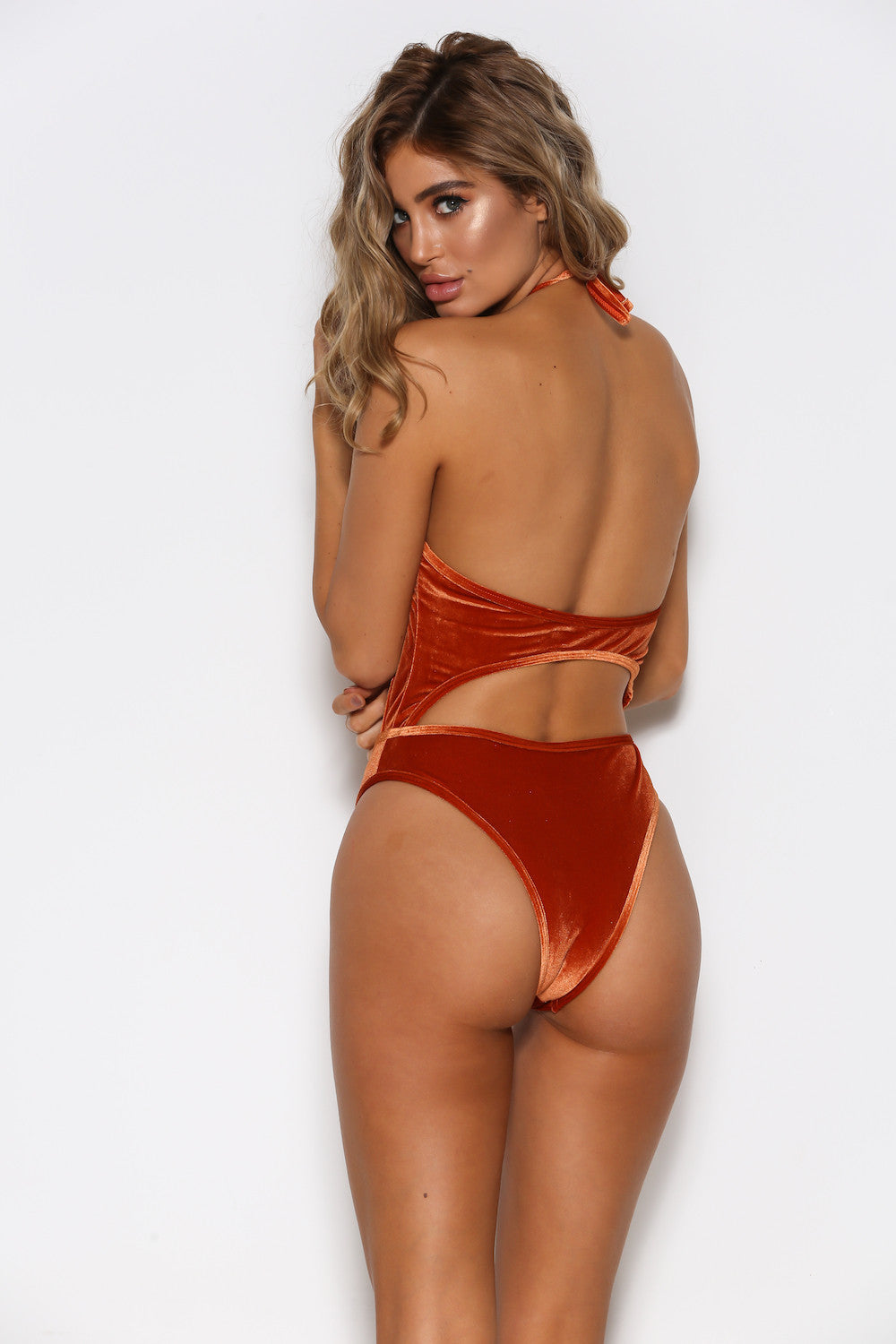 Liana One Piece Swimsuit - Tan