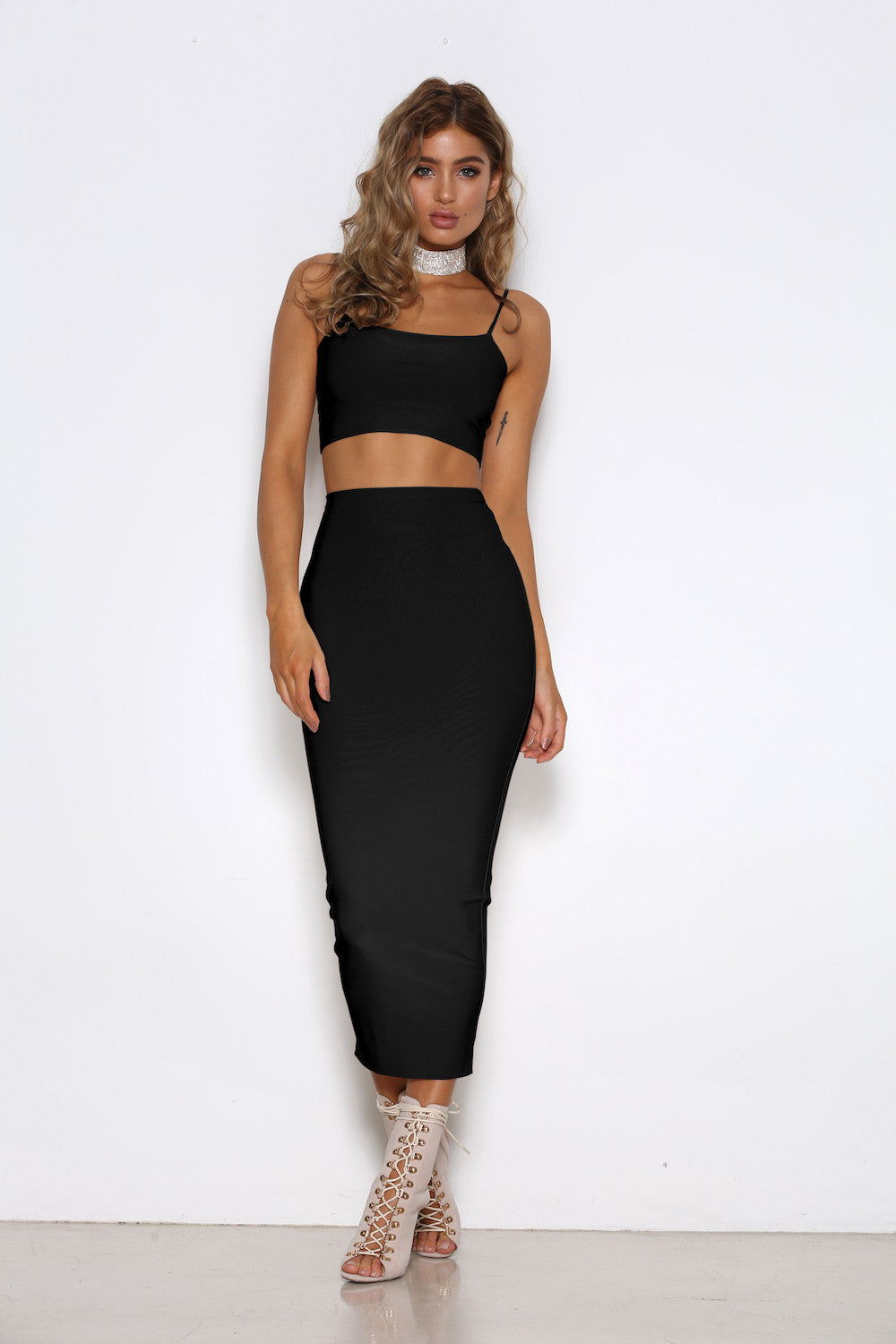Madeline Skirt - Black
