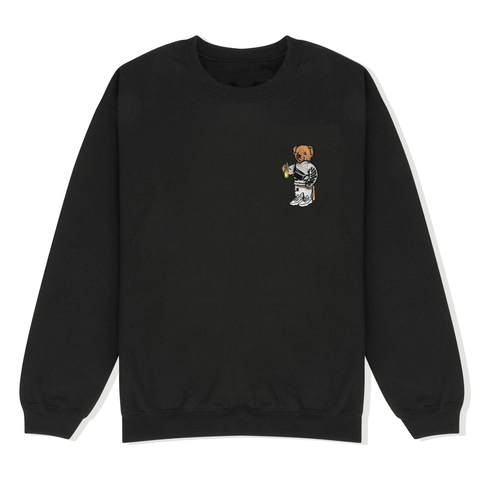 Bear Embroidered Sweater