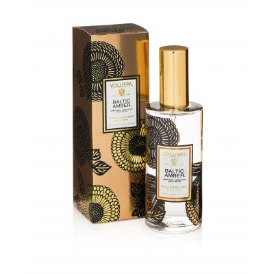 Voluspa Baltic Amber - Room & Body Mist - EscentialsLA