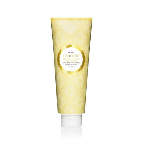 LaLicious Hydrating Body Butter - Sugar Lemon Blossom - EscentialsLA