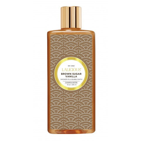 Lalicious Brown Sugar Vanilla Shower Oil & Bubble Bath - EscentialsLA