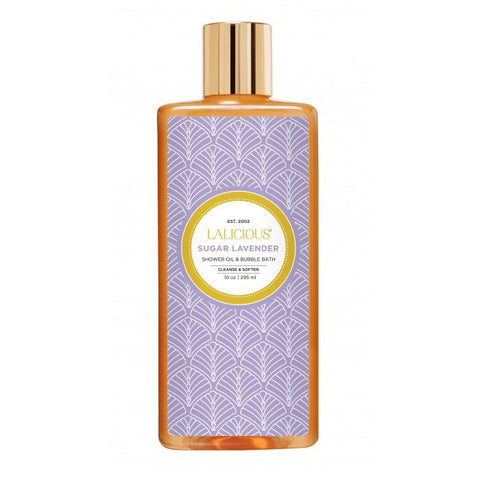 Sugar Lavender Shower Oil & Bubble Bath - EscentialsLA