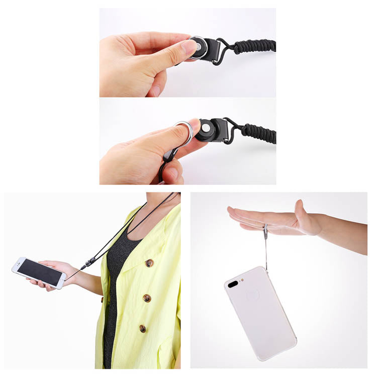 Finger Ring Stand With Lanyard For Universal Phones /Ipad/ Kindles