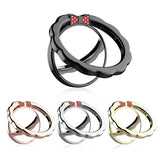 Finger Ring Stand Phone Holder Bowknot Support Lanyard For Universal Smartphones /Ipad/ Kindles