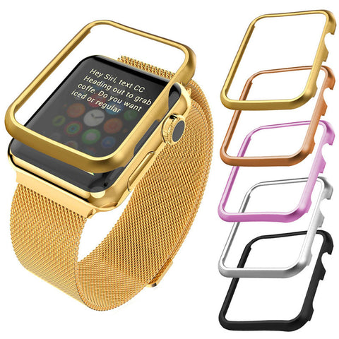 Apple Watch Case Metal Hard Protective Case for Apple Watch Sport/Edition Series 2/Series 1