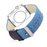 Apple Watch Band Woven Nylon Denim Fabrics Adjustable for Apple Watch Sport/Edition All Models
