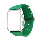 Green Nylon Fabrics Watchband Replacement Wrist Strap for Apple Watch Sport/Edition Series 2/Series 1