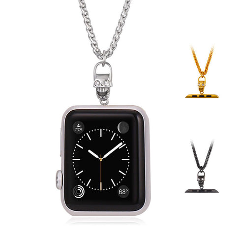 Apple Watch Necklace Punk Skull Accessories For Series 1 Series 2& 2