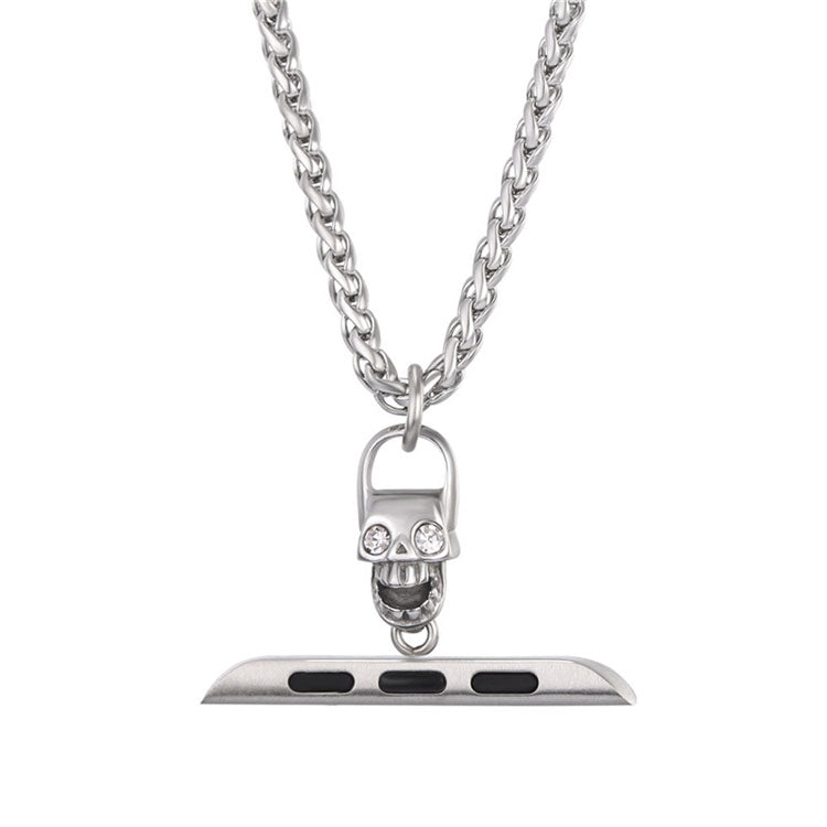 Apple Watch Necklace Punk Skull Accessories For Series 1 Series 2