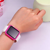 Protect Case Red/Pink/Black TPU Material Apple Watch Case For Apple Watch Accessory