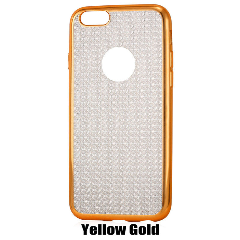 Sparkle iPhone Cases Scratch/Dust Resistant TPU Material Soft Slim Fit Protective Cases for iPhone 6/6s/6 plus/6s plus
