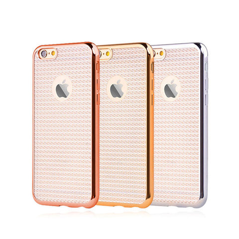 Sparkle iPhone Cases TPU Material Soft Slim Fit Protective Cases for iPhone 6/6s/6 plus/6s plus