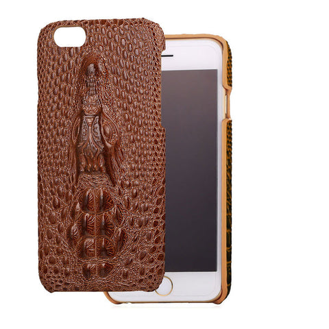 iPhone 7/7 plus Case Crocodile Skin Back Cover PU Leather Protective Cases for iPhone 6/6s/6 Plus/6s Plus