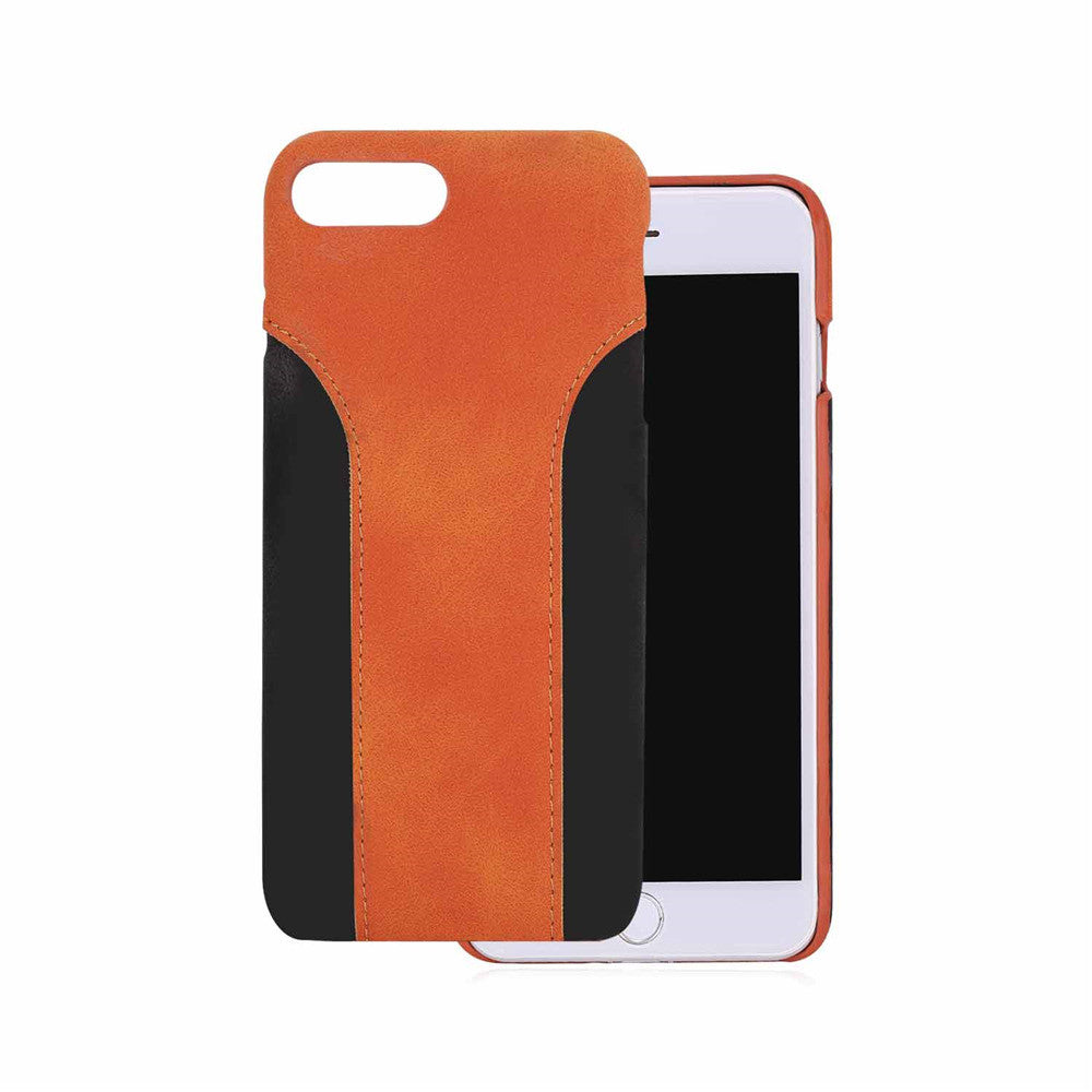 Two Tone Leather Cases Protector for iPhone 7/7plus iPhone 8/8 plus