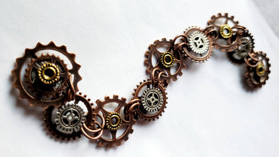 Round Gears Magnetic Jewelry String - QB's Magnetic Jewelry Creations