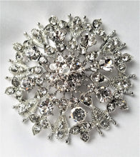 Rhinestone Magnetic Brooch - QB's Magnetic Creations