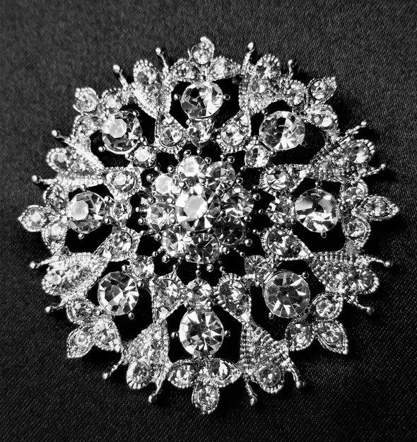 Rhinestone Magnetic Brooch - QB's Magnetic Jewelry Creations