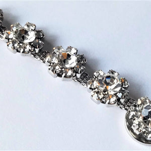 Clear Rhinestone Magnetic Jewelry String - QB's Magnetic Creations