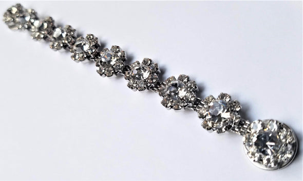 Clear Rhinestone Magnetic Jewelry String - QB's Magnetic Jewelry Creations