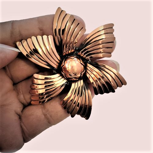 Copper Magnetic Brooch - QB's Magnetic Creations