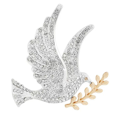 Dove Magnetic Brooch - QB's Magnetic Jewelry Creations