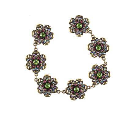 Flower Rhinestone Magnetic Jewelry String - QB's Magnetic Jewelry Creations