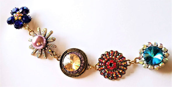 Floral Magnetic Jewelry String - QB's Magnetic Jewelry Creations