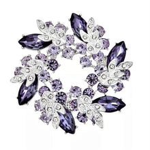 Purple Cluster Magnetic Brooch - QB's Magnetic Creations