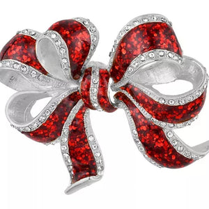 Bow Magnetic Brooch - QB's Magnetic Creations